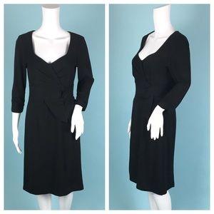 Nanette Lepore Black Sheath Dress